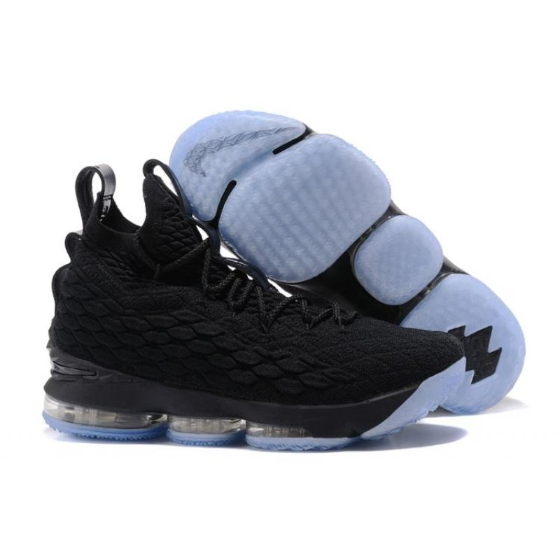 cab055e6f0b7 ... For Sale Nike LeBron 15 Triple Black .