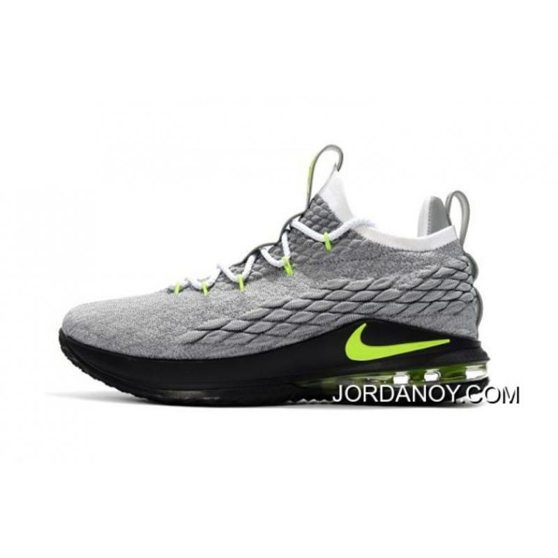 "low priced 2ac9e d6ee9 Discount Nike LeBron 15 Low ""Neon"" Men's Basketball Shoes"