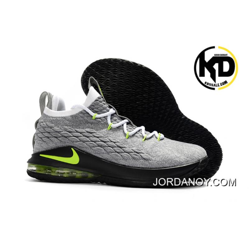 brand new 07a24 bf778 New Release Nike LeBron 15 Low Neon