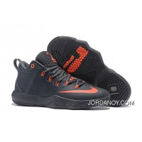 Nike Lebron Ambassador 9 Zoom Air Men Black Red Copuon Code