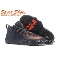 Nike LeBron Ambassador 9 Basketball Shoes Black Orange New Style