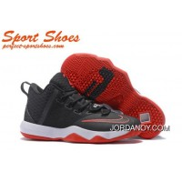 Nike LeBron Ambassador 9 Basketball Shoes Black Red White Discount