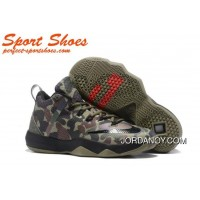 Nike LeBron Ambassador 9 Basketball Shoes Camouflage Discount