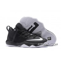 Nike LeBron Ambassador 9 Black/Metallic Silver-White For Sale