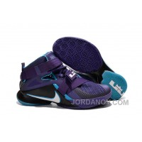 "Discount Nike LeBron Soldier 9 ""Summit Lake Hornets"" Basketball Shoe"