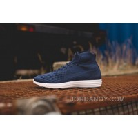 Nike Lunar Magista II Flyknit Blue White 852614-600 Authentic