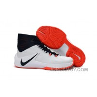 Nike Zoom Clear Out White/Obsidian/Bright Crimson For Sale
