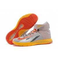 Cheap To Buy Nike Zoom Hyperrev KYRIE IRVING Wolf Grey/Team Orange/Cool Grey For Sale
