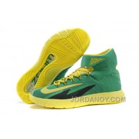 Nike Zoom Hyperrev KYRIE IRVING Apple Green/Yellow Streak For Sale Hot Now