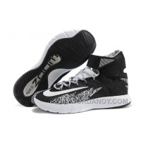 Hot Now Nike Zoom Hyperrev KYRIE IRVING Black/White-Metallic Silver For Sale