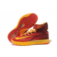 "Christmas Deals Nike Zoom Hyperrev KYRIE IRVING ""Cleveland Cavaliers"" Light Crimson/University Gold"