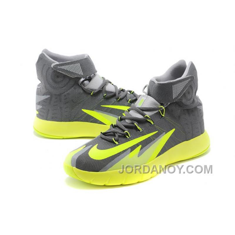 ... Nike Zoom Hyperrev KYRIE IRVING Dark Grey/Wolf Grey-Black-Volt For Sale  ...