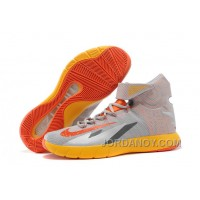 Nike Zoom Hyperrev KYRIE IRVING Wolf Grey/Team Orange/Cool Grey For Sale Authentic
