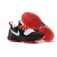 Nike Zoom PG 1 Black White Red Top Deals