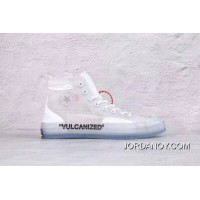 OFF-White X Converse Men Women High Shoes New Style