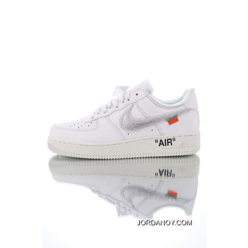 a4a0569359 Big Deals Men OFF-WHITE X Nike Air Force 1 Basketball Shoes SKU:27136 ...
