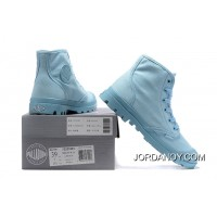 Palladium Women Shoes Light Blue Best