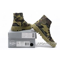 Palladium Men Shoes Camouflage New Release