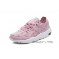 2017 Spring/Summer Puma R698 Pink Women Running Shoes Vintage New Release