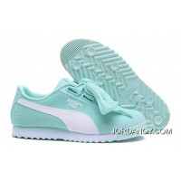PUMA Roma TK Graphic Womens Light Blue Butterfly Shoes Basket Free Shipping