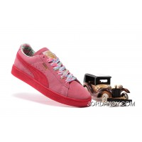 PUMA SPORTSTYLE SUEDE Womens Colorful Pink Lastest