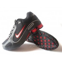 Men's Nike Shox Monster Shoes Black/Red Free Shipping