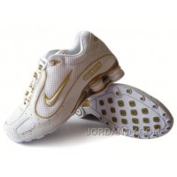 Men's Nike Shox Monster Shoes White/Yellow Authentic
