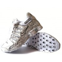 Men's Nike Shox NZ Carpenterworm Shoes White/Black/Offwhite/Silver Cheap To Buy