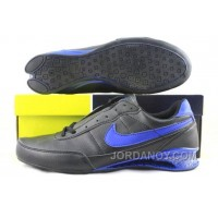 Men's Nike Shox R2 Shoes Black/Blue For Sale