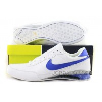 Men's Nike Shox R2 Shoes White/Blue For Sale