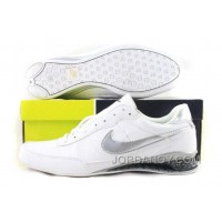 Men's Nike Shox R2 Shoes White/Silver/Black Super Deals