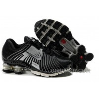 Kid's Nike Shox R4 Shoes Black/Cool Grey Discount