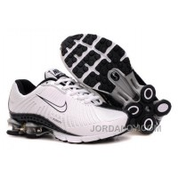 Kid's Nike Shox R4 Shoes White/Black Top Deals