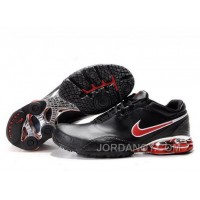 Men's Nike Shox R5 Shoes Black/Red New Release