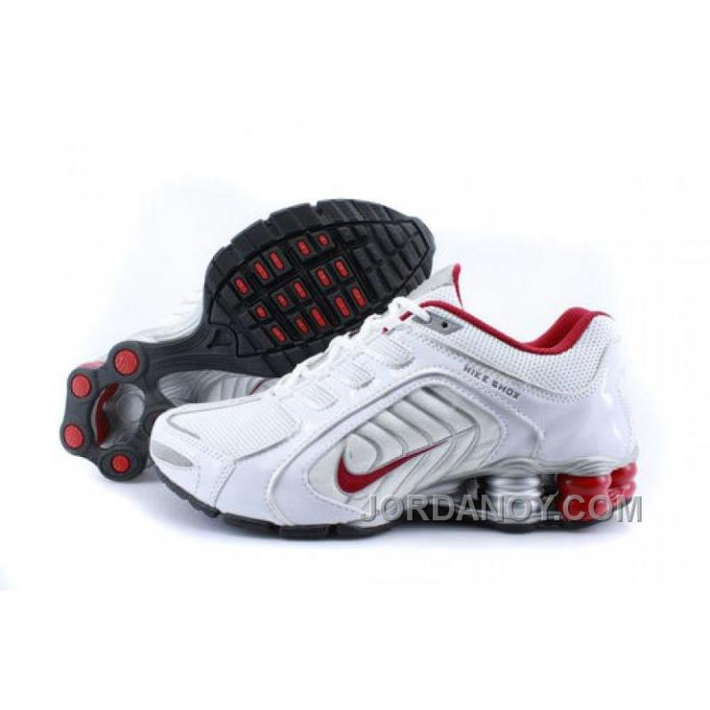 super popular 2979a d1482 Men's Nike Shox R5 Shoes White/Grey/Red New Release