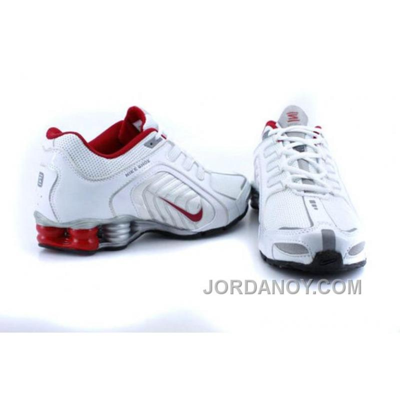 cheap for sale huge sale latest discount Men's Nike Shox R5 Shoes White/Grey/Red New Release, Price ...