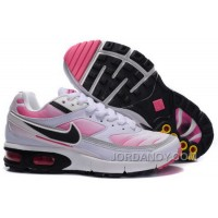 Women's Nike Shox TR Shoes White/Black/Pink Authentic