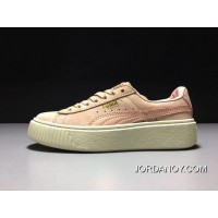 Puma X Rihanna THE CREEPER Pink/White Women Sneaker 363663-09 For Sale