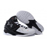 Online Under Armour Curry 2 Suit Tie Black White Red For Sale