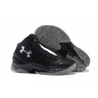 For Sale Under Armour Curry 2 The Professional Black Grey Silver On