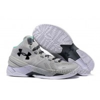 Online Under Armour Curry 2 Cool Grey/Black-Teal For Sale