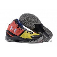 Top Deals Under Armour Curry 2 I Can Do All Things Black Yellow Red