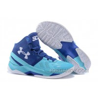 Hot Now Under Armour Curry 2 Father To Son Pacific/Europa On Sale