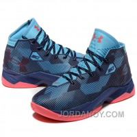 For Sale Under Armour Stephen Curry 2.5 Blue Navy Basketball Shoes