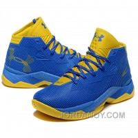 Top Deals Under Armour Stephen Curry 2.5 Royal Golden Basketball Shoes