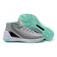 Under Armour Stephen Curry 3 Shoes Grey White Green Online
