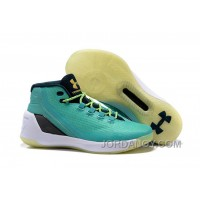 Discount Under Armour Stephen Curry 3 Shoes Tiffany White