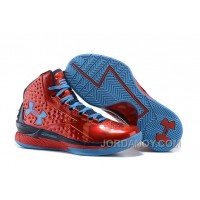 Under Armour UA Curry One PE Red Blue Shoes For Sale Lastest
