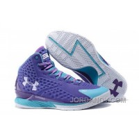 For Sale Under Armour UA Curry One (1) Father To Son Purple Teal