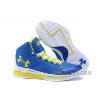 Top Deals Under Armour UA Curry One (1) Home Blue Yellow